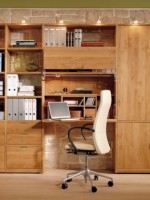 wood-bookcase-combined-with-folding-desk-2